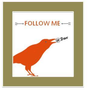 Follow me on twitter: @2nc © Sylvia NiCKEL