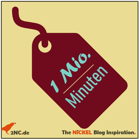 1 Million Minuten © Sylvia NiCKEL