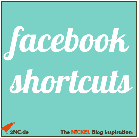 facebook-shortcuts © Sylvia NiCKEL