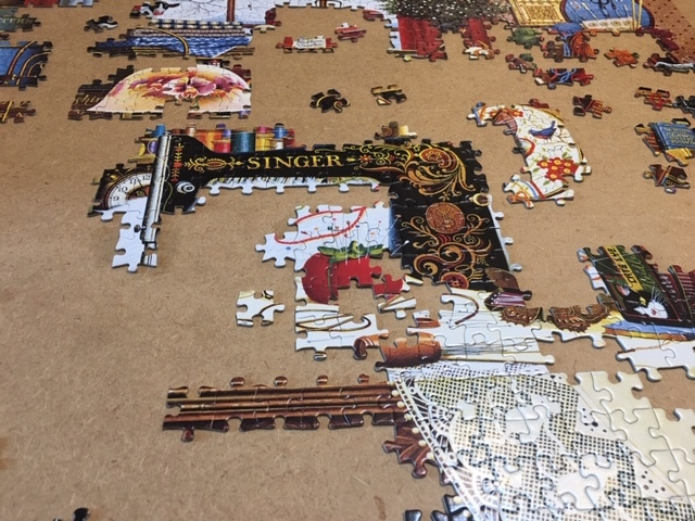 Second phase of the puzzle