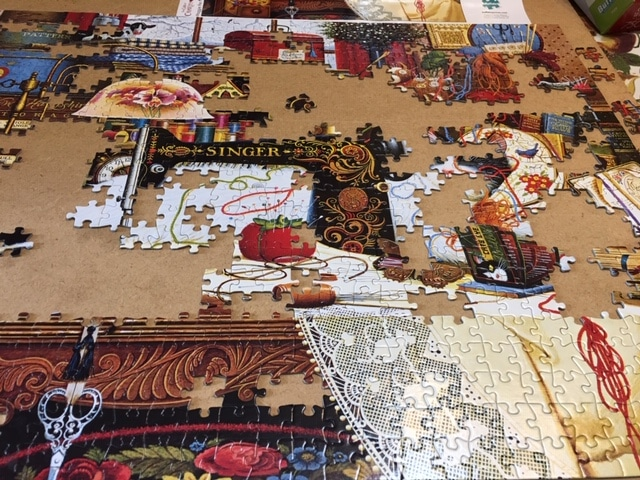 Puzzle almost finished