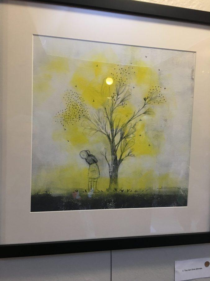 image of yellow tree