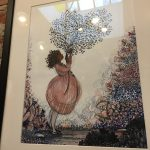 Framed prints of Luyken's work on my heart