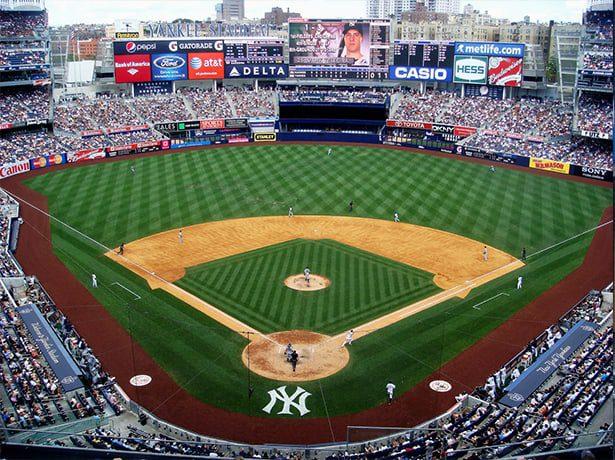 baseball field in New York