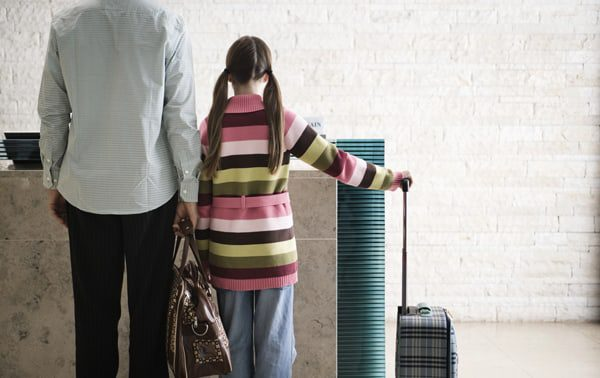 travel news teen at the airport