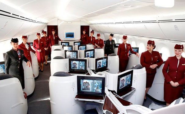 Qatar airways staff