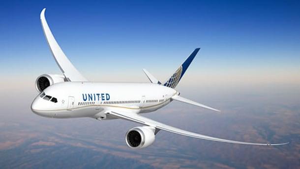 United Dreamliner 787