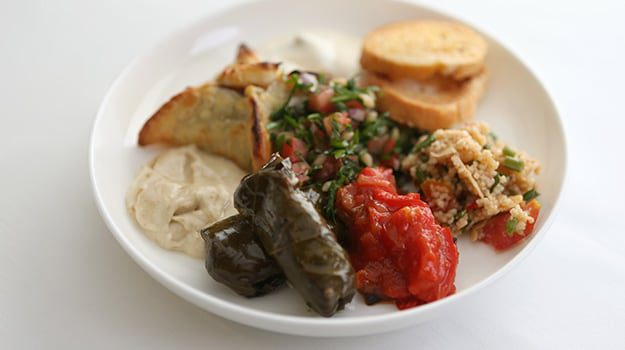 Mezze-plate-karryon