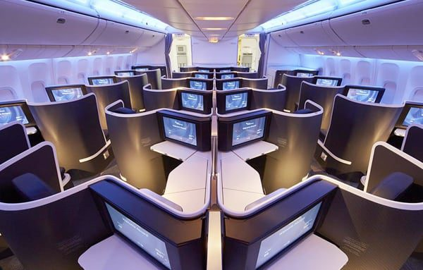 The new Virgin Australia Business Class