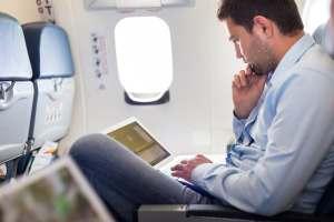 Business Traveller Plane Shutterstock