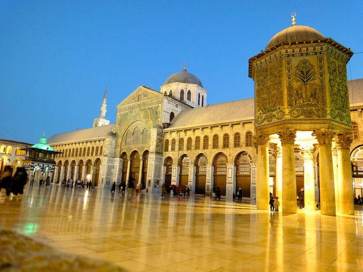 Umayyad Mosque (before destruction) - Damascus (UNESCO World Heritage Site), Syria