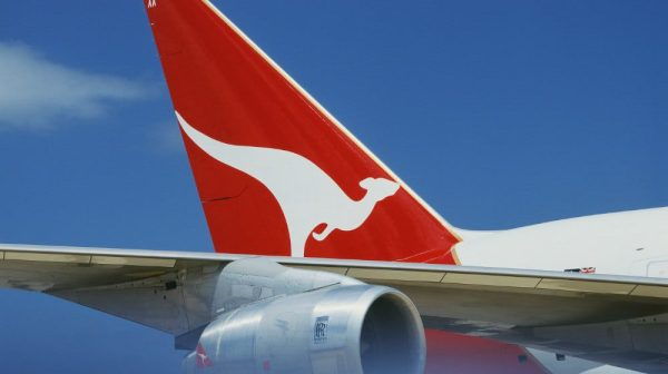 Qantas tail feature