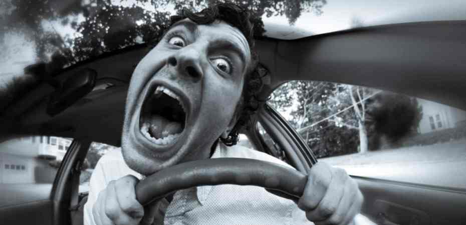 Driver crazed with road rage