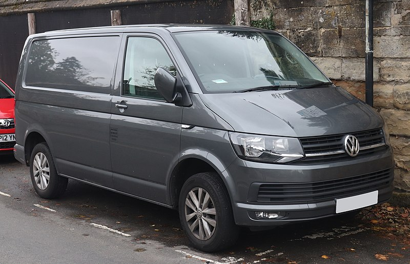 2017 Volkswagen Transporter, one of the five oldest car models still in production. Vauxford, CC BY-SA 4.0 <https://creativecommons.org/licenses/by-sa/4.0>, via Wikimedia Commons