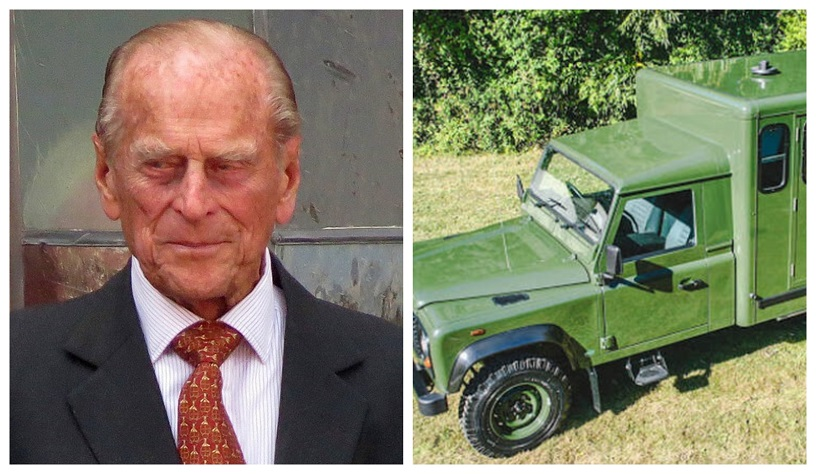 Prince Philip Land Rover