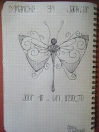 Jour 10 - Un insecte