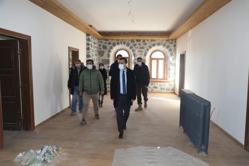 Beylerbeyi Sarayı restorasyon çalışmalarında sona gelindi