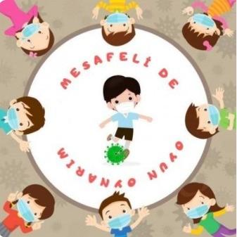 """""""Mesafeli de Oyun Oynarım """"e-Twinning Projesi sona erdi"""