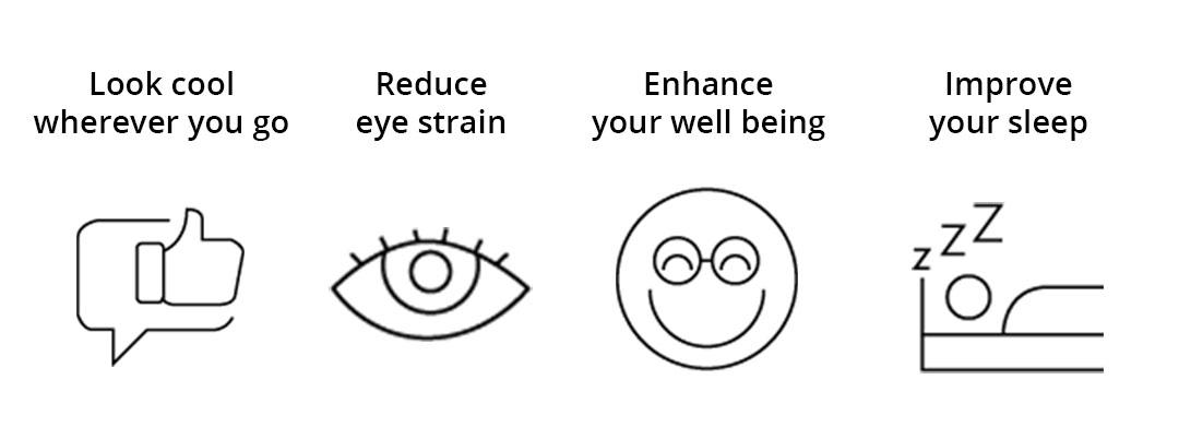 Benefits of blue light glasses from Karsoletti