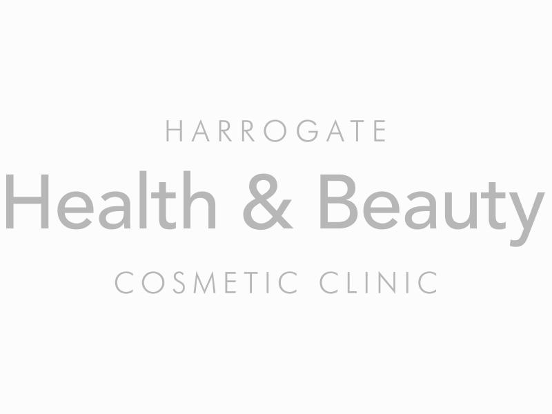 Harrogate Health & Beauty logo.