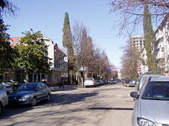 Улица Роз в Сочи — карта улицы Роз с номерами домов