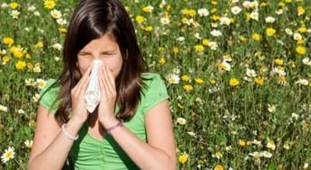 Τρεις συμβουλές για να αντιμετωπίσετε τις αλλεργίες της άνοιξης