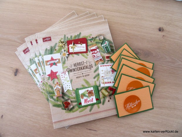 Stampin'Up! Herbst Winter Katalog 2016