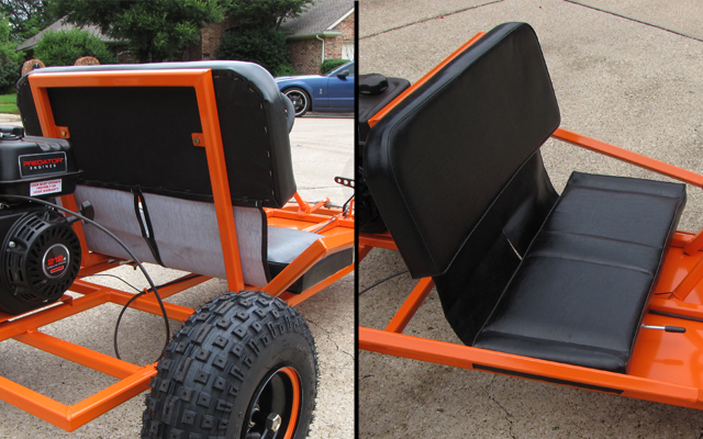 Go Kart Seats How To Make Vs Buy Cheap Kartfab Com