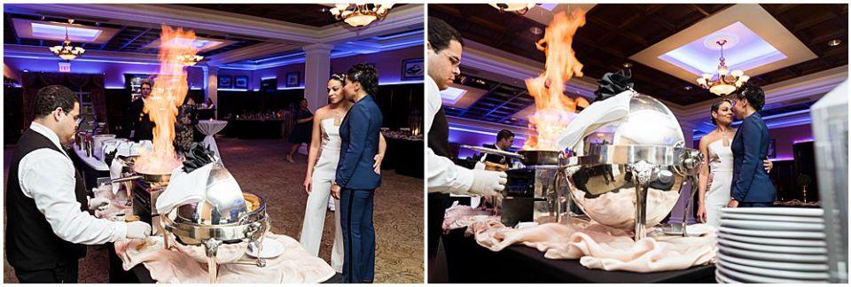 Alysia & Yanick wedding food photo shoot