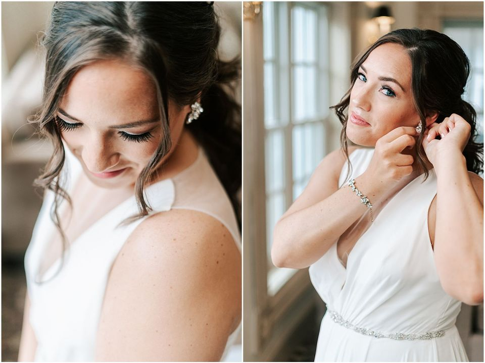 Some bridal details at her Olde Mill Inn Wedding