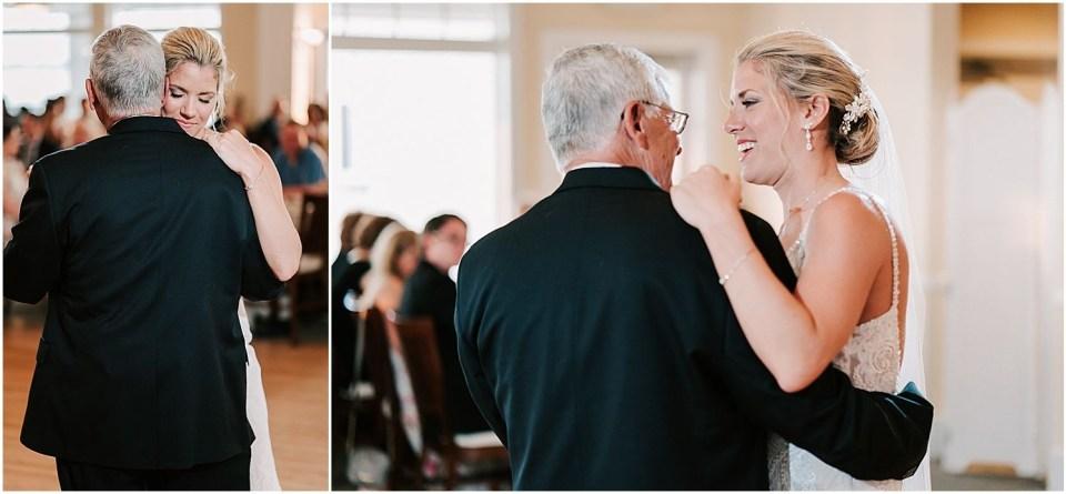 Parent dance at this Avalon Yacht Club Wedding