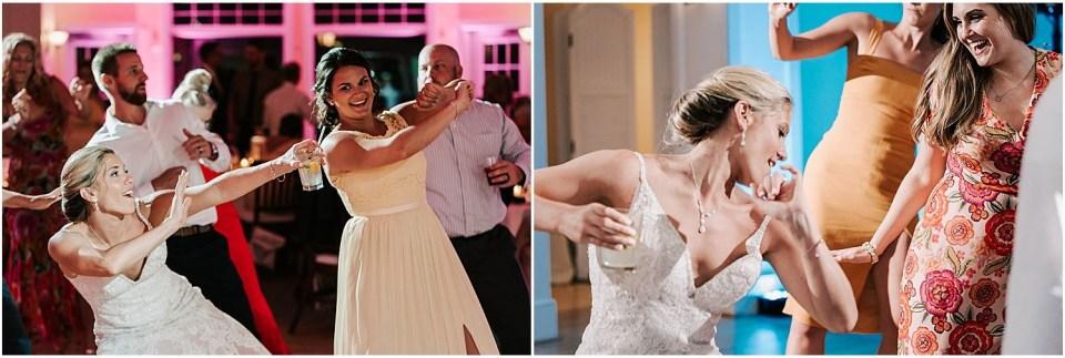 Party dancing at this fun wedding