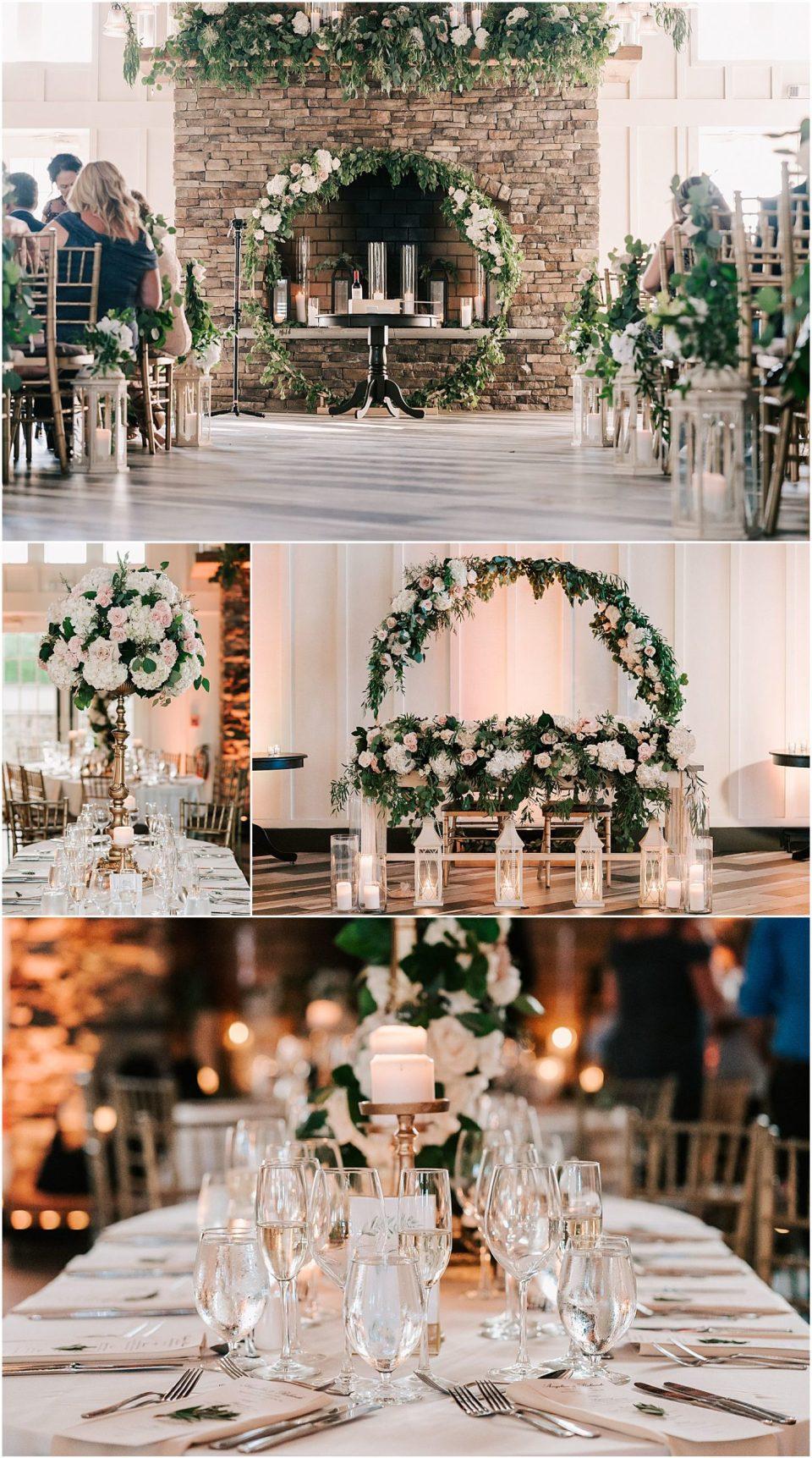 Wedding Details at this wedding venue