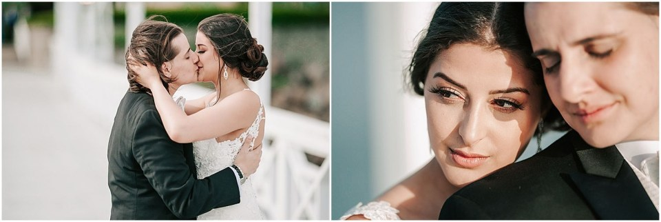 Couples portraits at this Marina Del Rey wedding