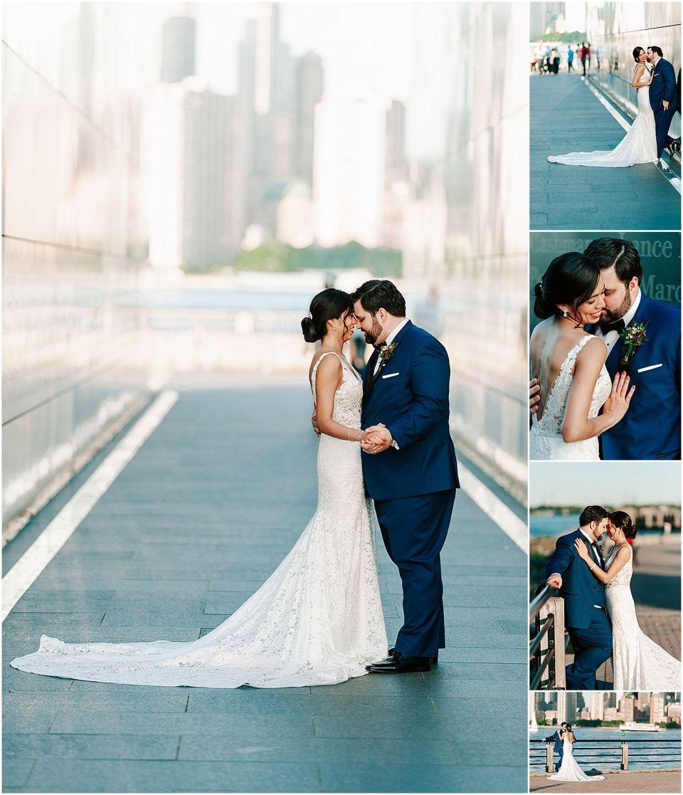 Couples shots outside The Liberty House Wedding venue