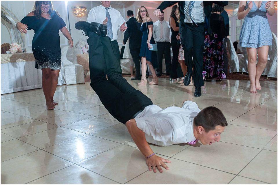 Party dancing at The Grand at 1600 Wedding venue