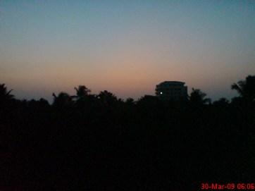 Sunrise @ ~ 06:00