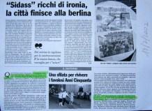articolo provincia pavese - sfilata anni 50