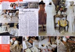 ricamo italiano - rivista servizio - la camelia collezioni