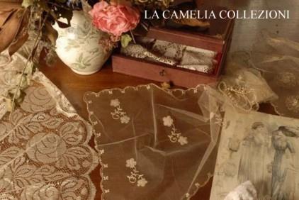 velo nuziale inizi 900 ricamo liberty su tulle - ricamo italiano - la camelia collezioni