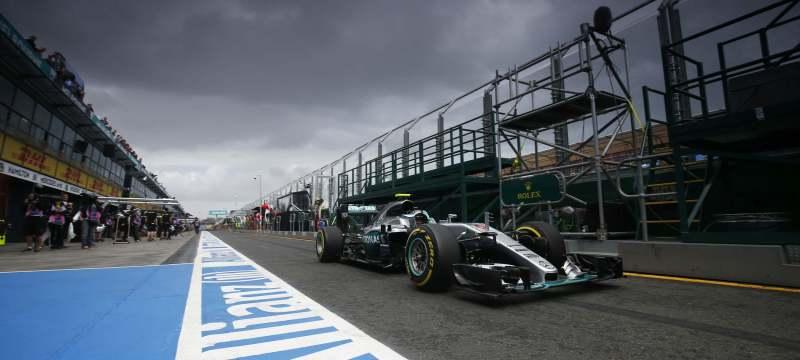 Mercedes pit lane storm high res