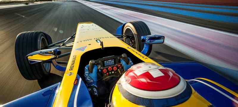 Renault_E.dams 2015  cockpit