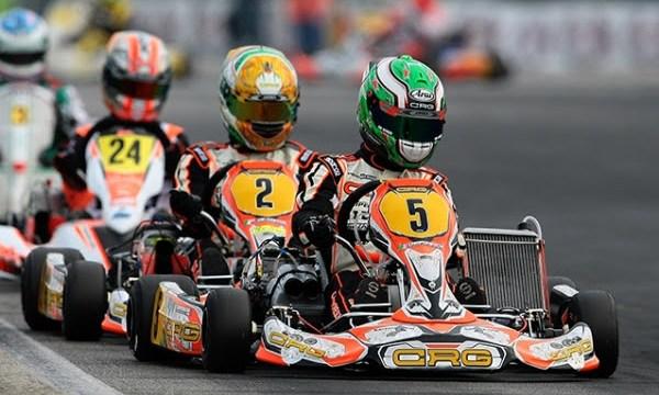 Flavio Camponeschi and Paolo De Conto, KZ CRG driver