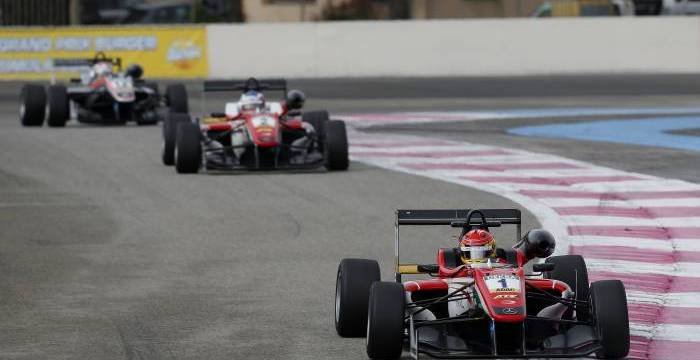 Lance Stroll winning the first race of the season on track