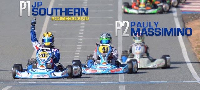 TOP KART USA STRONG IN WKA MAN CUP ROUND TWO