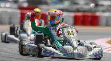 Junior double winner Axel Charpentier – Zuera