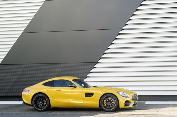 Gts side view yellow