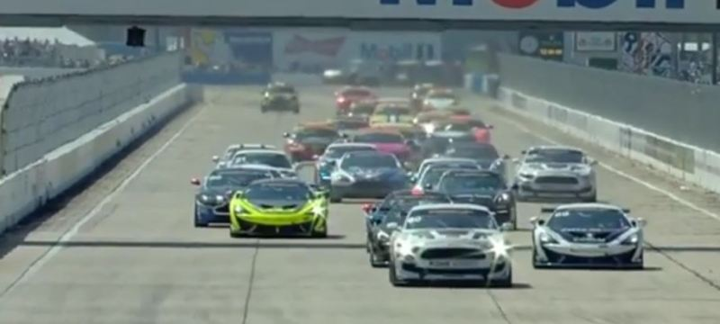 Full 2 hour race of the CTSCC Continental Tire SportsCar Challenge