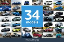 Toyota Global Hybrids Sales Surpass 10 Million
