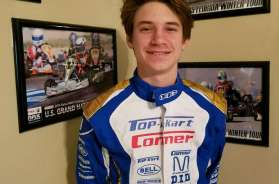Dylan Gennaro will join the Top Kart USA family for 2018 (Photo Dylan Gennaro Racing)